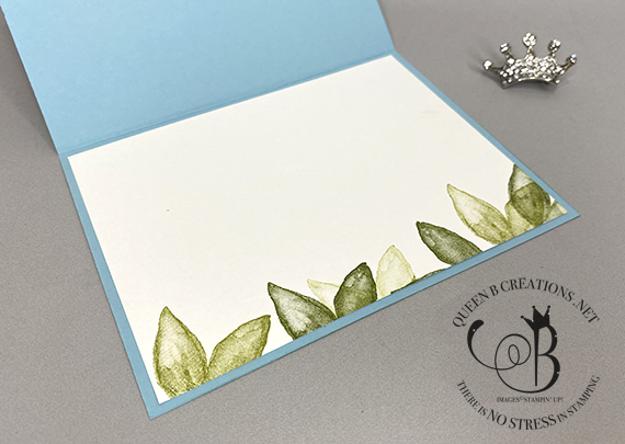 Stampin' Up! Artistically Inked Thanks by Lisa Ann Bernard of Queen B Creations