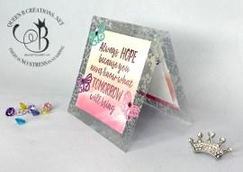Paper Pumpkin Possibilities Hope Box