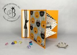 Cute Halloween Book Binding Pop Out
