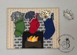 Sweet Stockings Fireplace