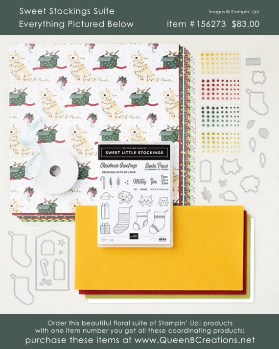 Stampin' Up! Sweet Stockings Suite Collection