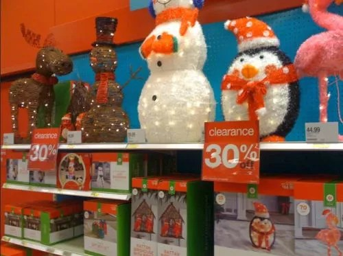 lighted christmas yard decorations - Target Christmas Yard Decorations