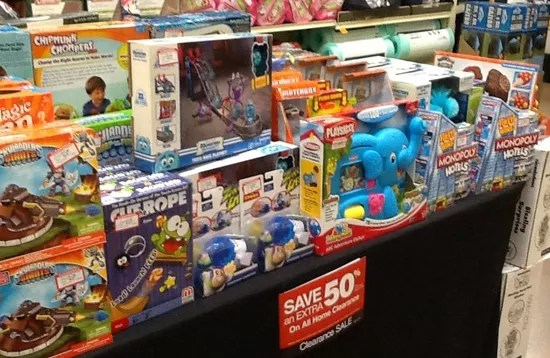 HOT Fred Meyer Extra 50 Off Clearance Toys