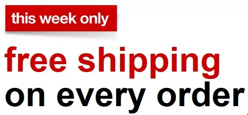 Target - free shipping on every order