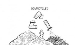 Downcycled Plastic Bottles - The Story of Bottled Water
