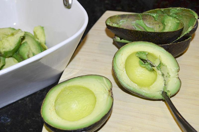 Avocado ready for eating