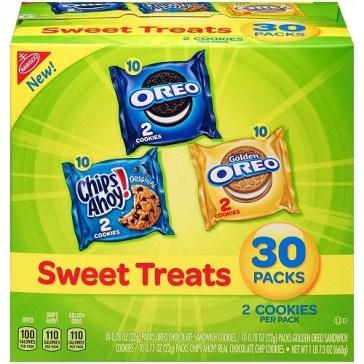 nabisco sweet treats snack packs 30 count