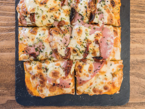pizza-mortadella-trufada-queen-burger-gourmet-madrid