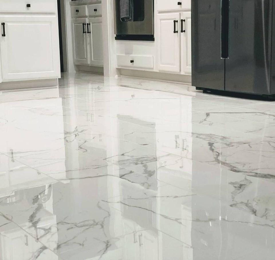 Marble Look Kitchen Floor Tiles   Novocom.top