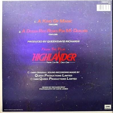 Maxi 45 tours France - Kurgan (Clancy Brown)