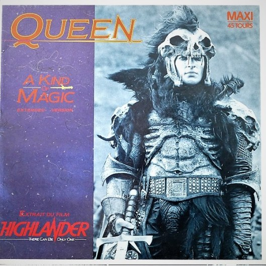 Maxi 45 tours France - Kurgan (Clancy Brown)