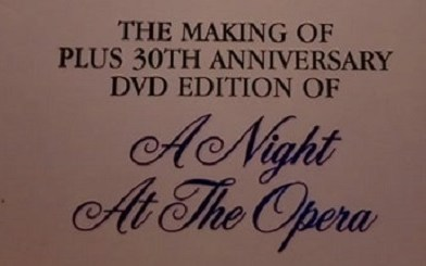 "Making Of ""A Night At The Opera"""