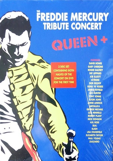 Freddie Mecury Tribute (3x DVD 2013)