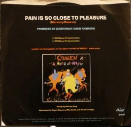 Pain is so close to pleasure USA Single