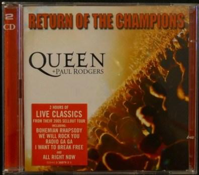 Return Of The Champions CD EU