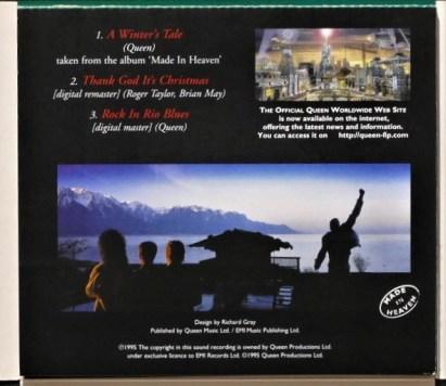 Limited Edition in Christmas box digipak