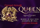 Annulation du concert de Queen + Adam Lambert à Paris
