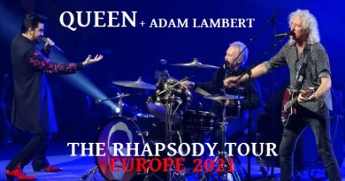The Rhapsody Tour – Europe Tour 2021 (dates reprogrammées)