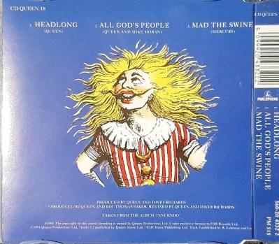 CD Maxi Single Europe