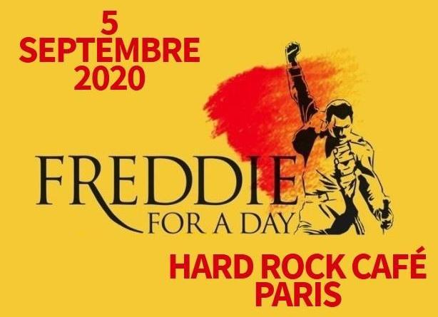 Freddie For A Day Paris