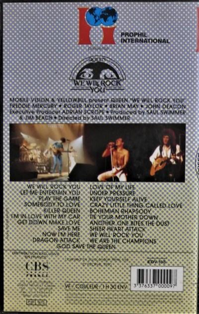 VHS de 1990 -France