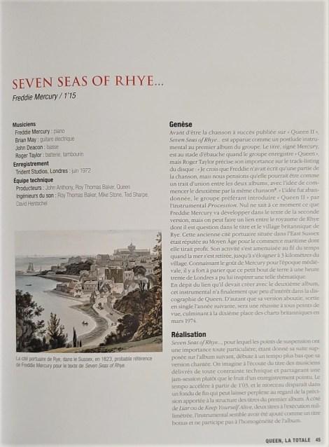 Seven Seas Of Rhye...