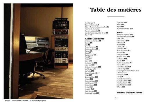 Sommaire (Photo: Studio Saint-Germain - © Edouard jacquinet)