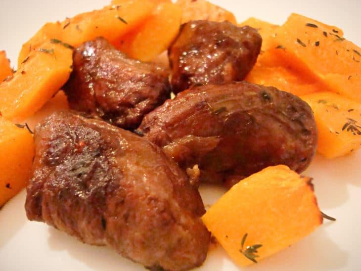 low carb cheeky sticky pork chops