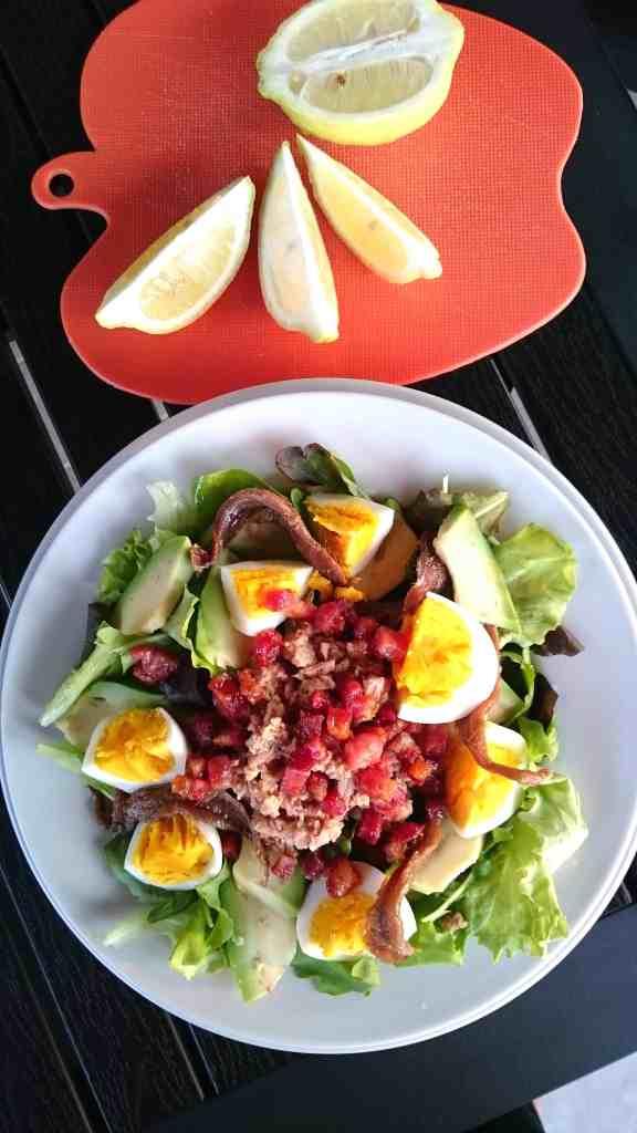 queenketo gennaro nicoise salad