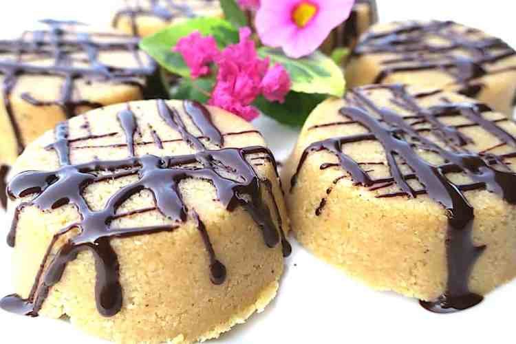 easiest sugar free no-bake nut butter fat cakes