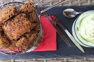 Crunchy Cricket Chicken Nuggets & Avocado Mayo