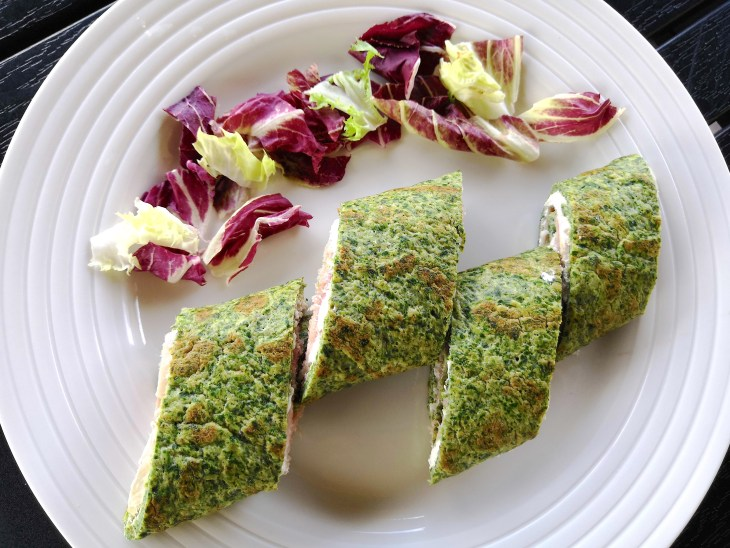 Low CarbQuick & Easy Spinach Tortilla Wraps