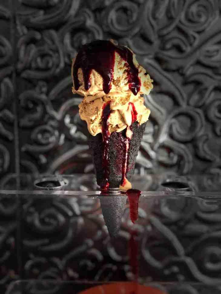 Keto & Sugar Free Halloween Ice Cream Cones