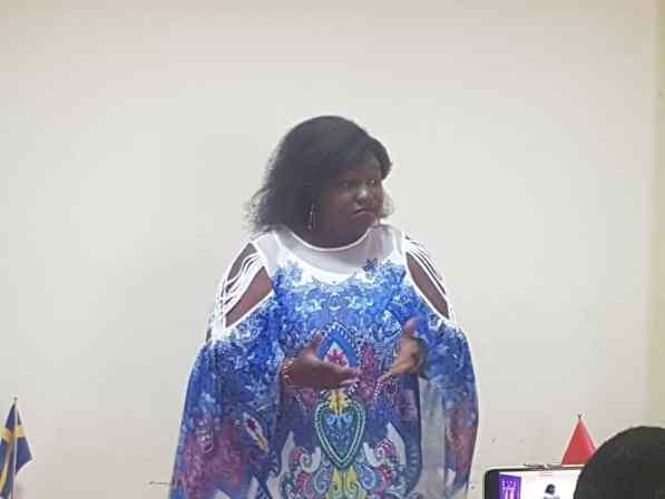 Raissa Compaoré, une des femmes référencées pour cette édition a salué  l'initiative