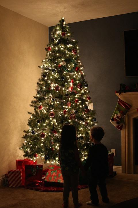 Christmas present hiding