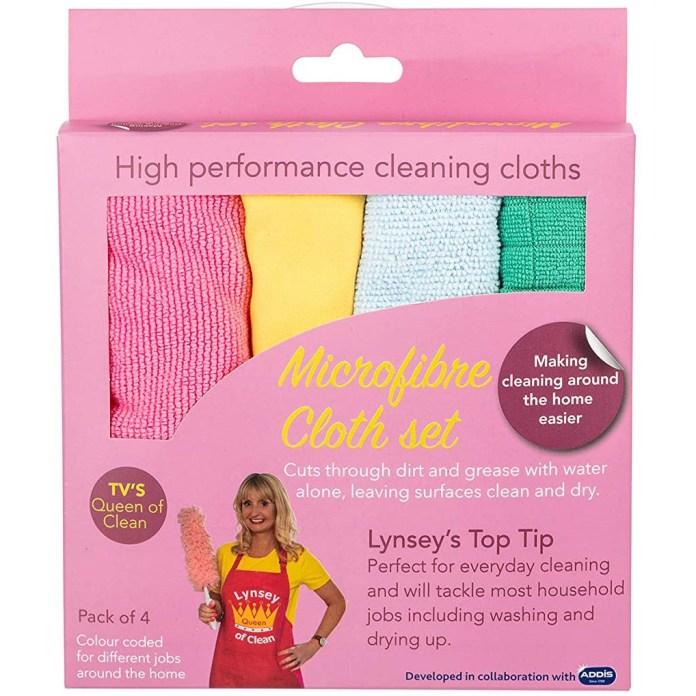 How do you clean Microfibre cloths