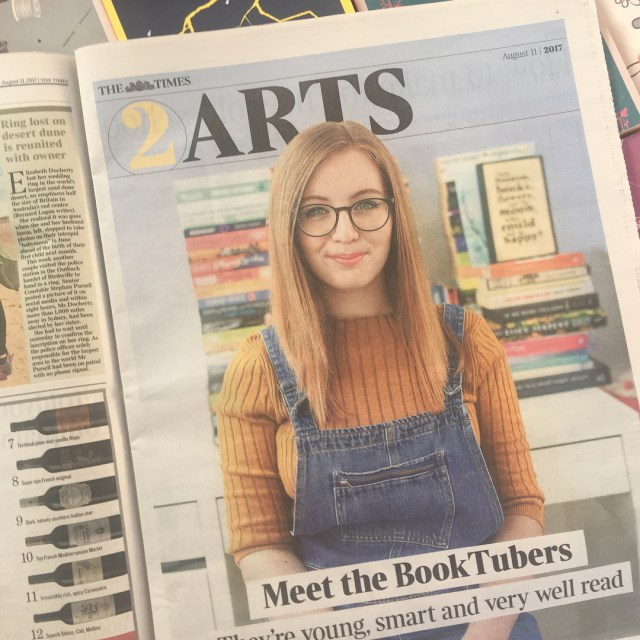 Im in The Times today talking about booktube and readinghellip