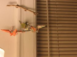 talman bird mobile and dirty blinds