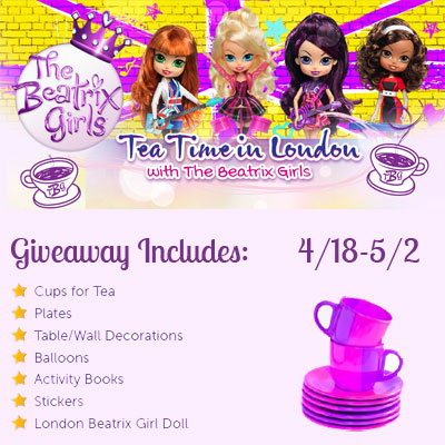Beatrix Girls Tea Party in London Giveaway