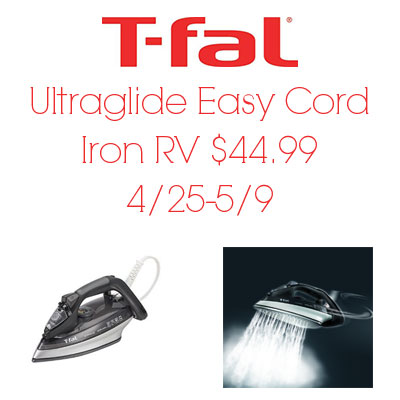 T-Fal Ultraglide Iron Giveaway