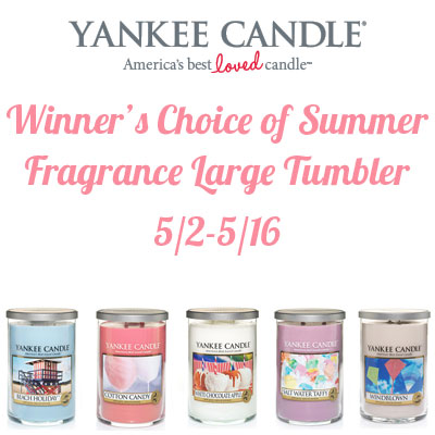Yankee Candle Summer Collection Giveaway