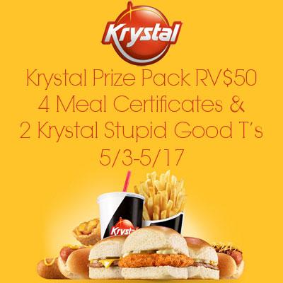 Krystal Prize Pack Giveaway