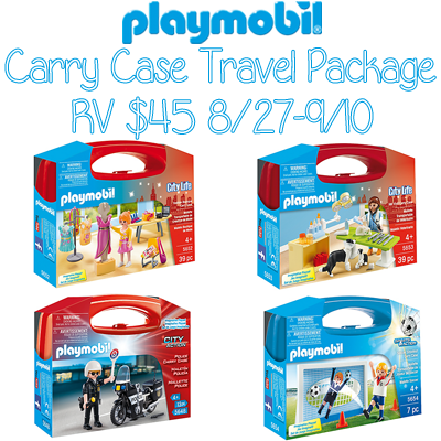 playmobil Carry Case Travel Package Giveaway