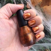 SinfulColors Copper Pot Nail Polish Review