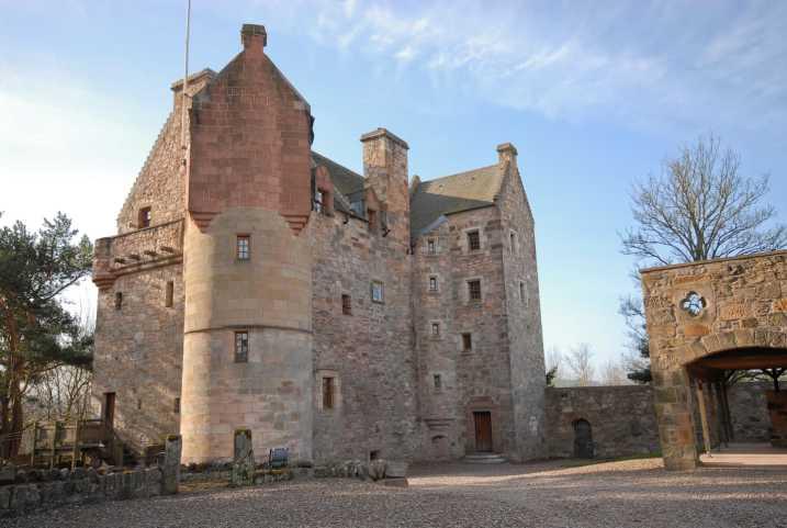 Ein ganzes Schloss in Schottland