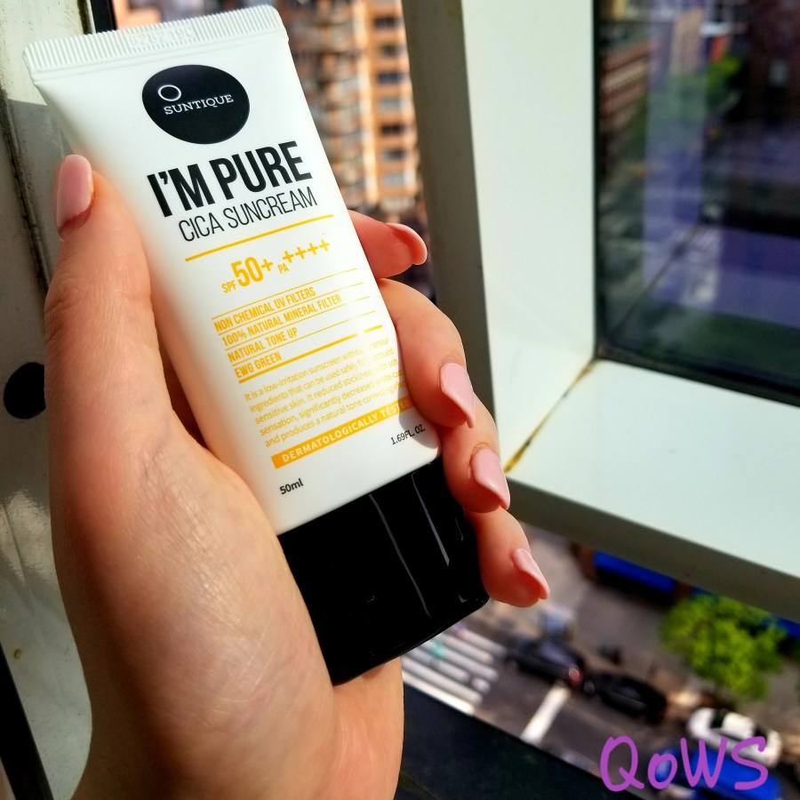suntique i'm pure cica suncream nyc
