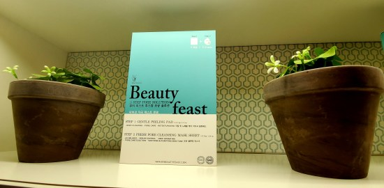 beauty feast 2 step pore solution mask