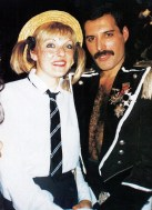 Freddie with Mary