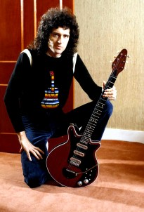 Brian with Red Special