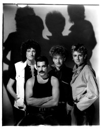 The Works Photo session 1984